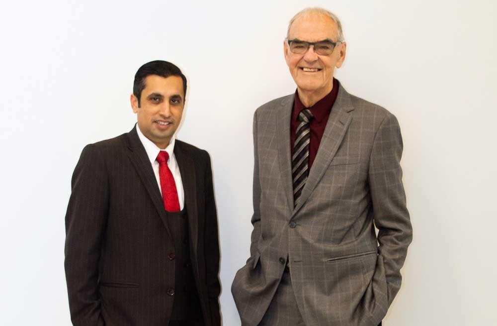 Michel Riou and Ammad Anwar